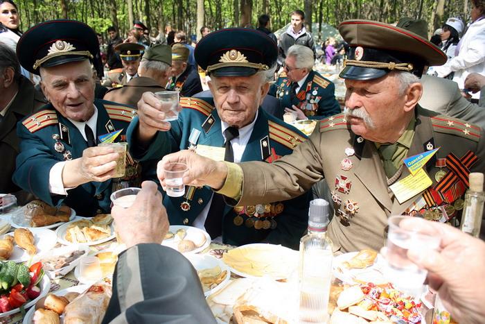 Латвия: советские ветераны- не участники Второй мировой войны