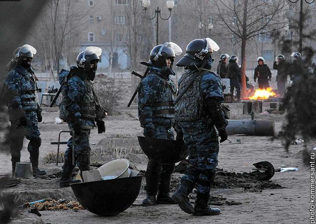 Сколько получают казахские полицейские