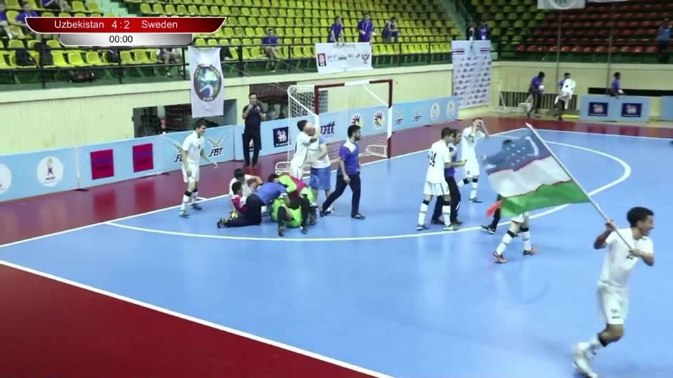 Узбекская команда – чемпион мира по футзалу среди инвалидов