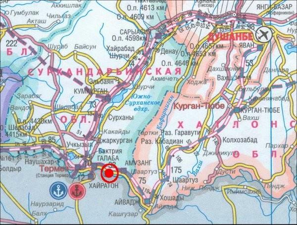 Узбекские железнодорожники восстанавливают ветку в сторону Таджикистана