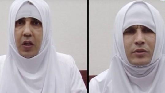 Двое салафитов переоделись женщинами для побега в Сирию