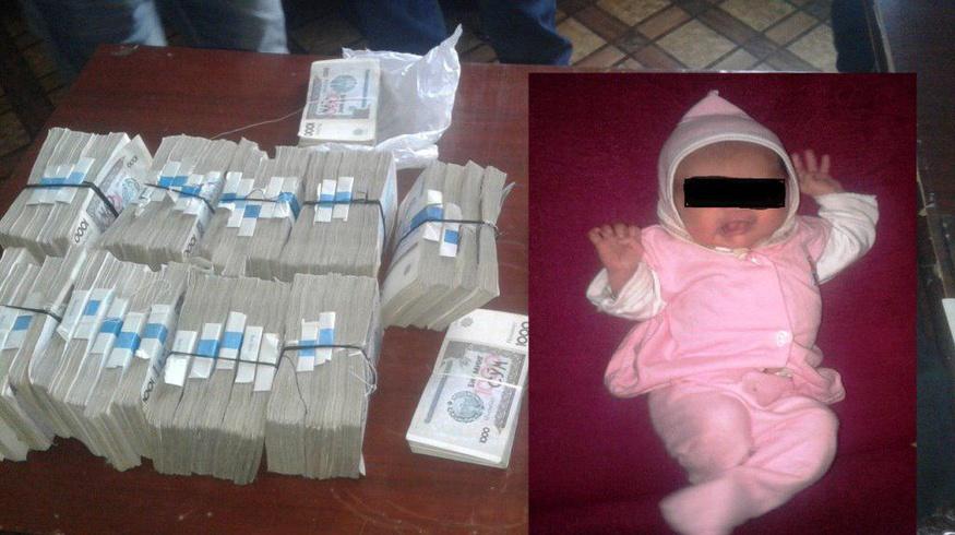 В Навои продавали младенца за $ 600