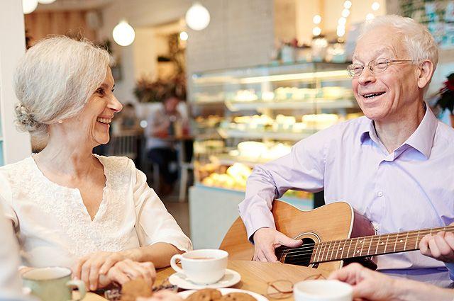 С пенсией по жизни