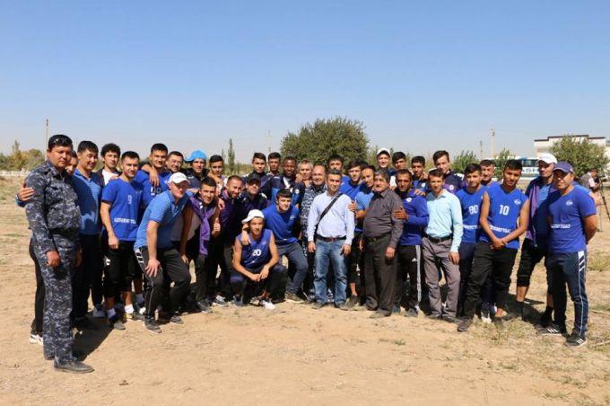 Узбекские футболисты блистали на хлопковом поле