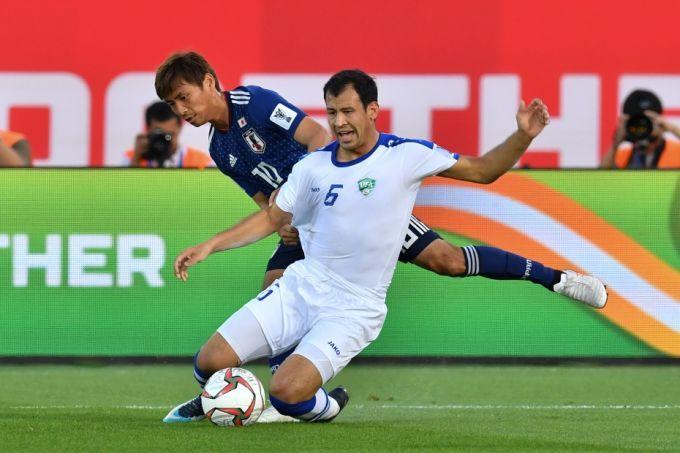 Кубок Азии: Узбекистан проиграл японцам