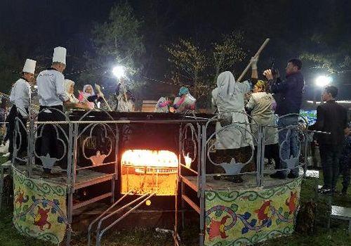 Навруз: ташкентцев приглашают на 7-тонный сумаляк