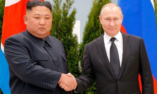 Ким Чен Ын встретился с Путиным