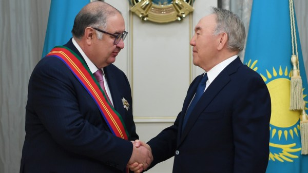 Назарбаев наградил Алишера Усманова