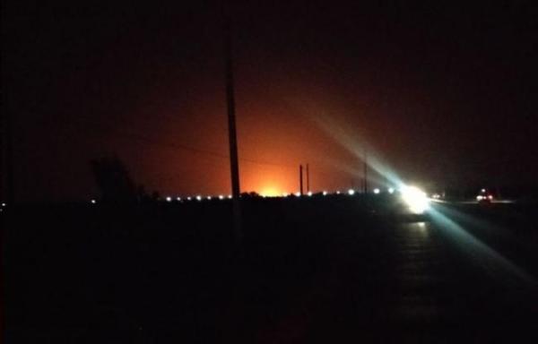 Станция по добыче газа горела в Бухаре