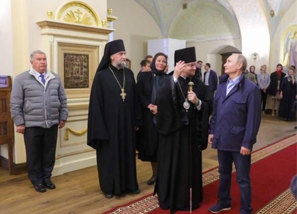 Кроссовки Путина взволновали СМИ