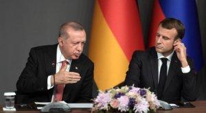 Эрдоган обозвал Макрона - мозг умер