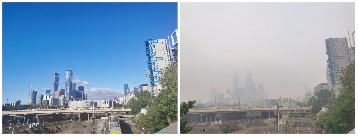Дым от австралийских пожаров обогнул планету