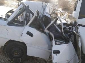 Автобус с рабочими НГМК столкнулся с Nexia, двое погибли