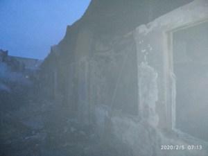 Торговый комплекс сгорел в Байсуне