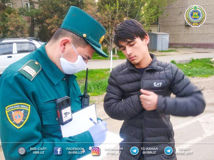 На ташкентцев посыпались «карантинные» штрафы