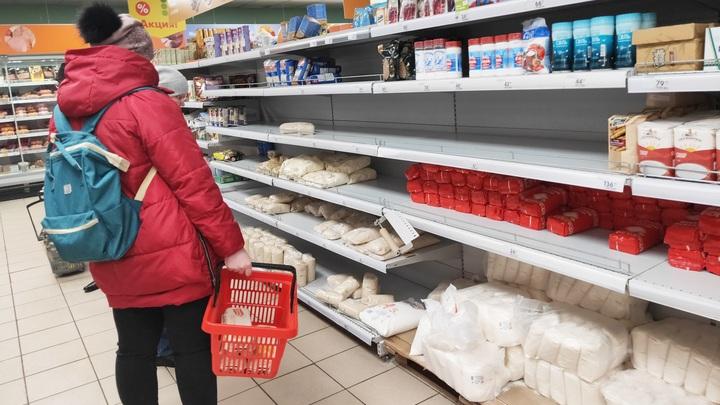 Ташкент подчистую смел продовольственные прилавки
