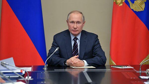 Путин объявил весь апрель нерабочим