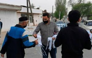 2,5 млн в сутки: узбекистанцев завалят медицинскими масками
