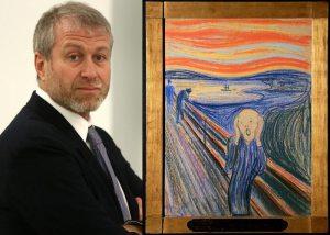 Российский олигарх Абрамович выложил за картину «Крик» 0 млн