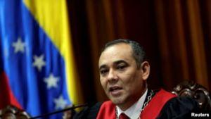 США вводят санкции к председателю Верховного суда Венесуэлы