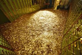 Россия рекордно разбогатела на золоте