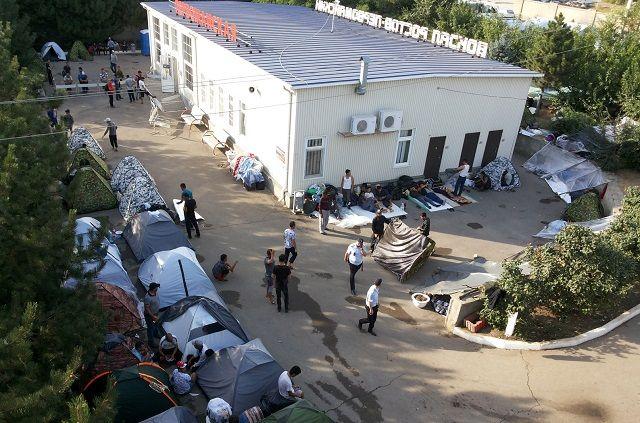 Узбеки попали в ростовский «плен»