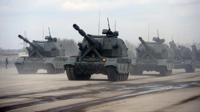 Российская «Коалиция» всадила в цель шесть снарядов
