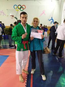 Студент «Губкина» из Бухары завоевал «бронзу» Кубка по курашу
