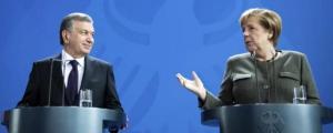 Глава Узбекистана обсудит с Ангелой Меркель партнерство между странами