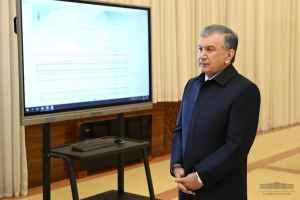 Шавкату Мирзиёеву презентовали новые инвестпроекты в Ташкенте