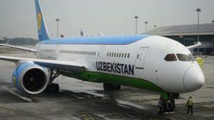 Шестой по счету Boeing-787 Dreamliner пополнил воздушный флот Uzbekistan Airways