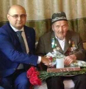 Российский лидер поздравил 100-летнего ветерана войны из Джизака