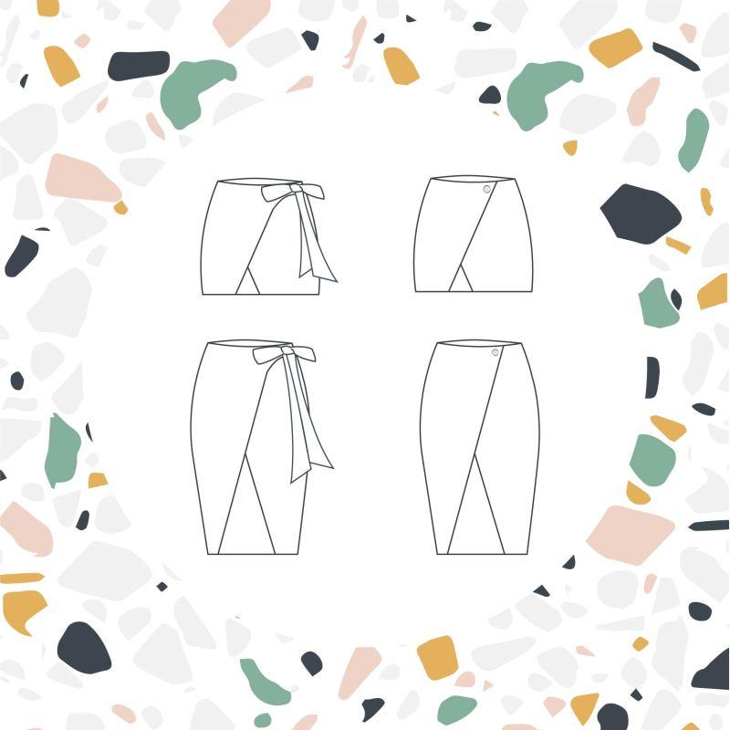 Variations de la jupe Calypso