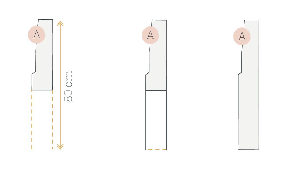 Illustration explication pièce A