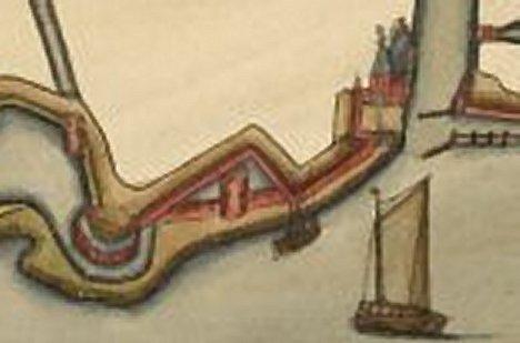 Frgm krt tussenfase vestingwerken 1580-1600