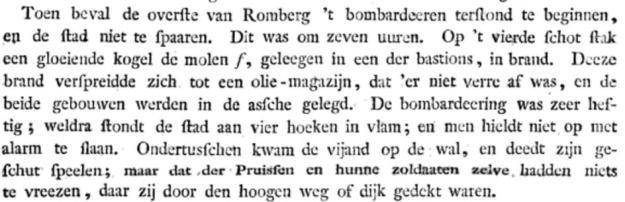 knipsel Geschiedenis van den veldtogt der Pruissen in Holland