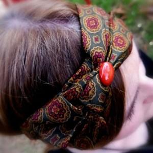 Fascia per capelli modello Kerala