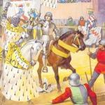 В Средневековье уже проводились рыцарские турниры с награждением победителей