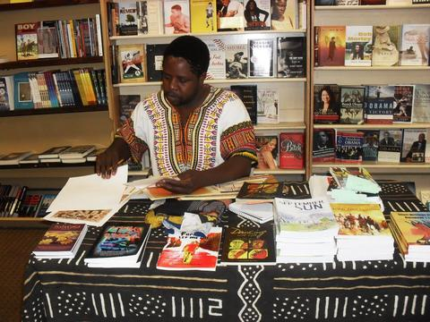 Книжная ярмарка в Зимбабве