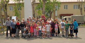 Международный день соседей отметили в микрорайоне Матмасы