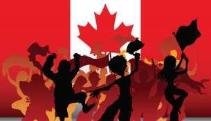 Canada Flag People