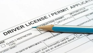 Driver license application