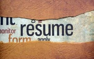 Resume concept