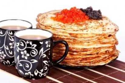 Tea and a pancakes