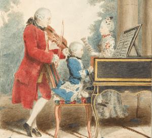 иллюстрация - Моцарт в детстве (Wikipedia)