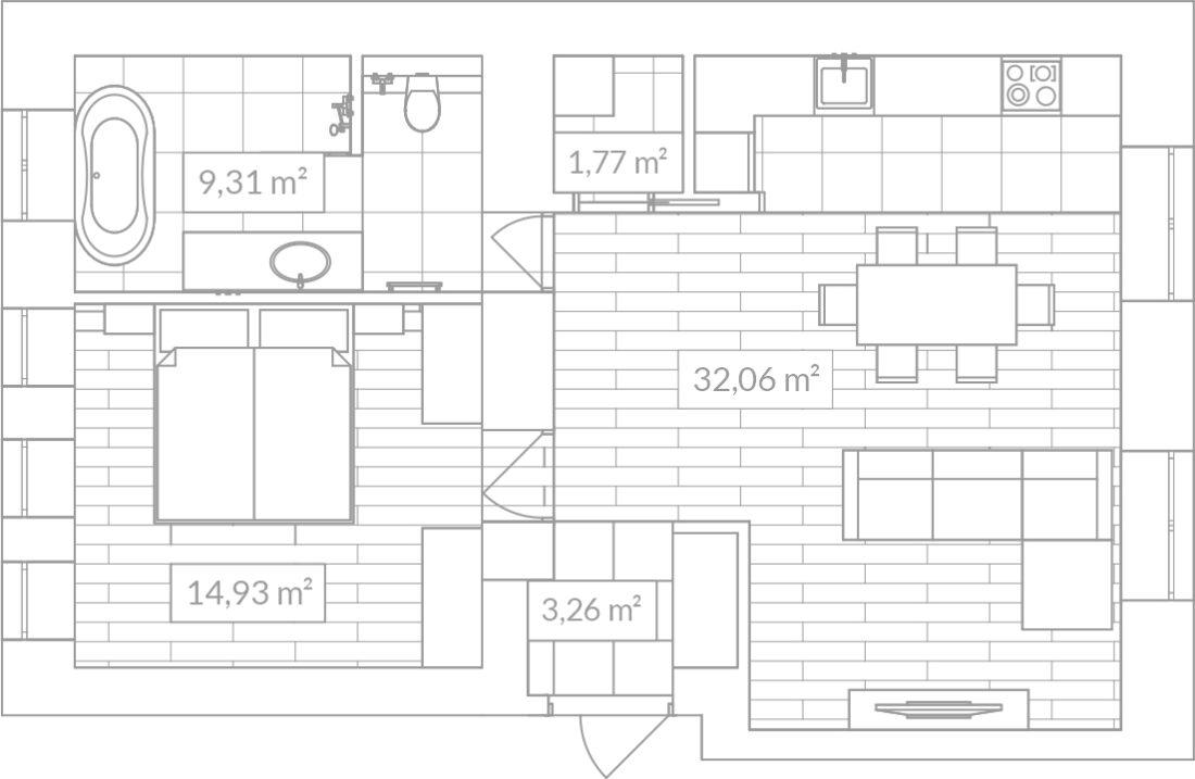 Franko 9 apartment plan