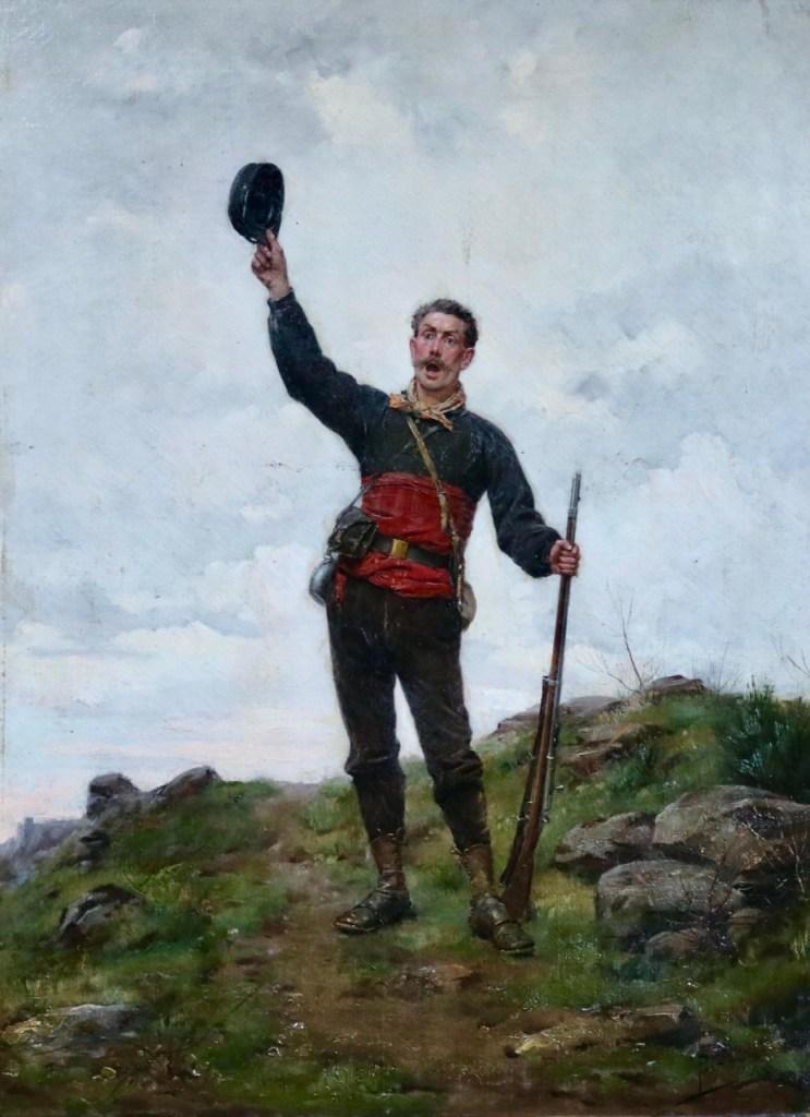 Hussar with a gun