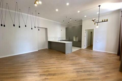 spacious kitchen zone