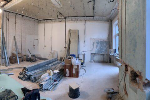 kotsyubinskoho 9 renovation process