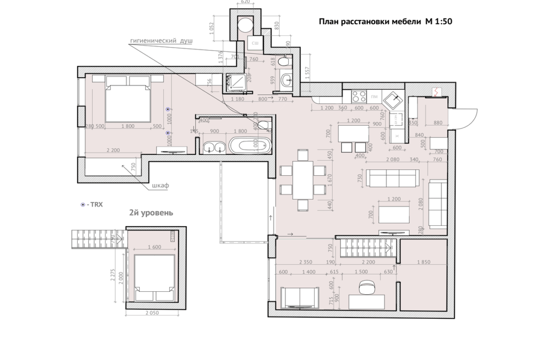 Gorkogo 26 apartment plan